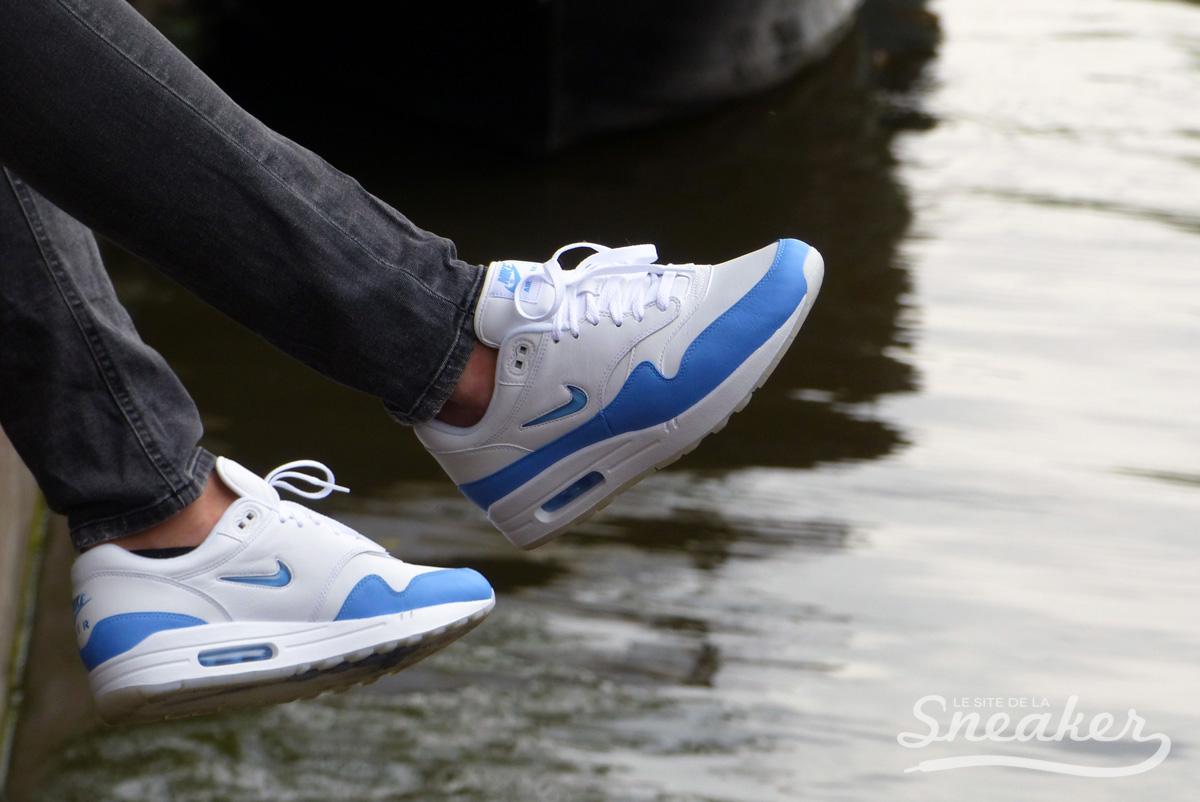 Nike Air Max 1 SC Jewel University Blue - Le Site de la Sneaker