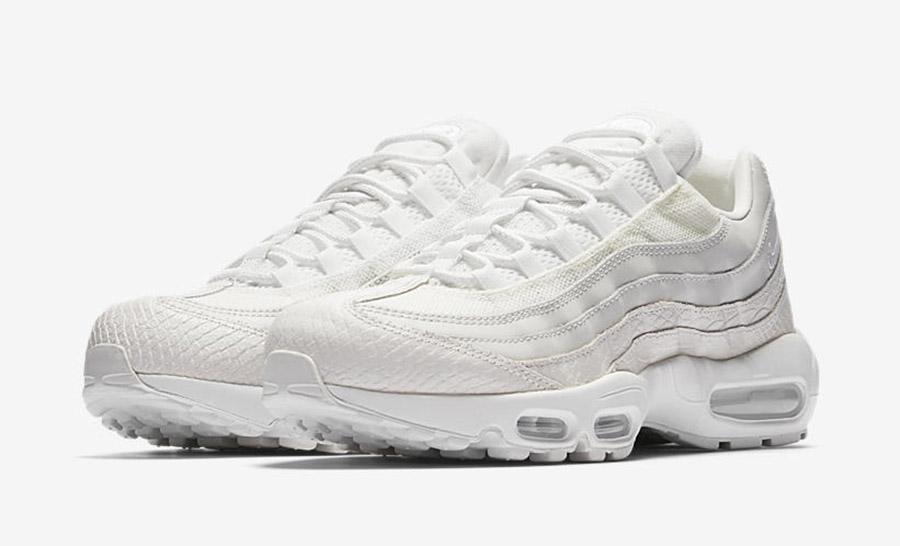 Nike Air Max 95 White Snakeskin - Le Site de la Sneaker