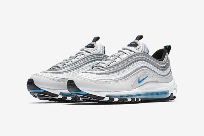 air max 97 gris bleu