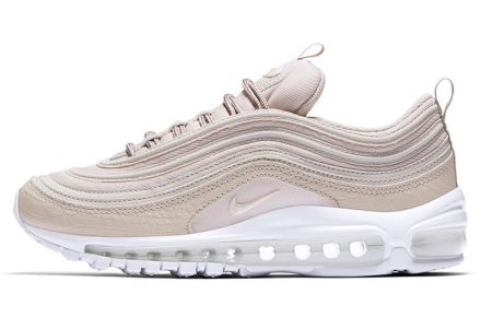 dedc24a42ab ... nike air max 97 pink suede snakeskin