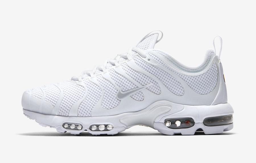 Nike Air Max Plus TN Ultra Triple White - Le Site de la Sneaker