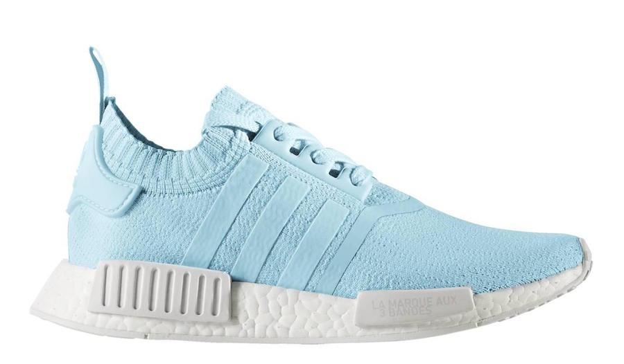 adidas NMD R1 Primeknit Ice Blue - Le Site de la Sneaker