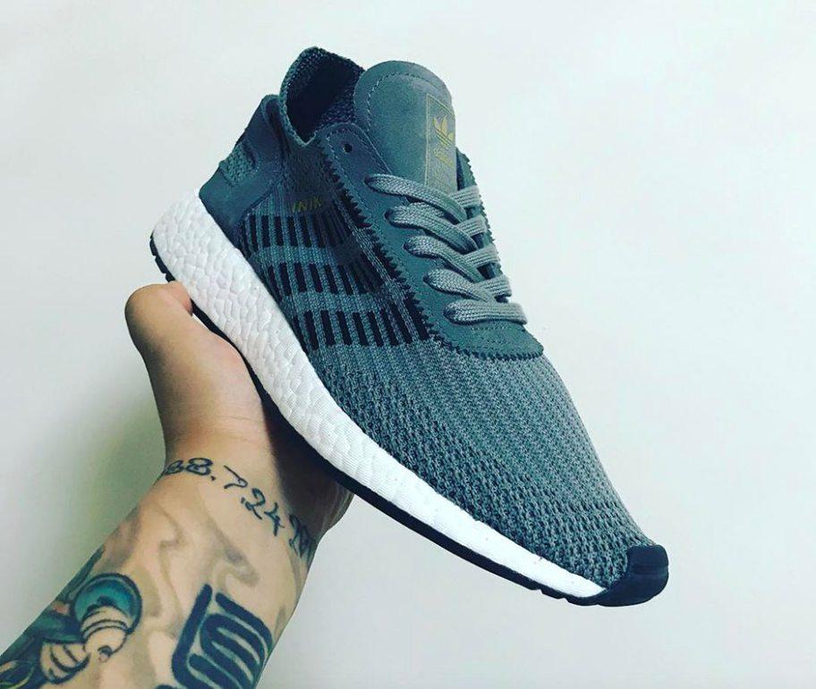 adidas gazelle primeknit gris