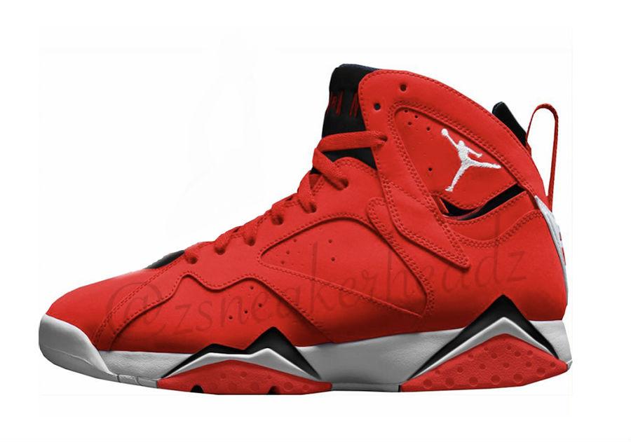 La Air Jordan 7 Fadeaway sortira courant janvier 2018 sur Nike.com et au prix de 190€. Il n'y a pas encore de photo du modèle mais seulement un aperçu ...