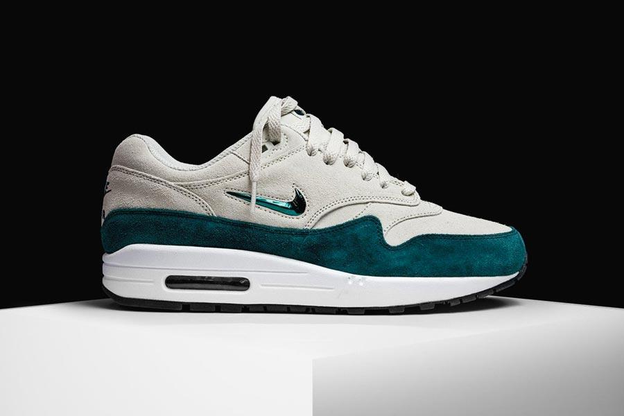 Nike Air Max 1 Premium SC Jewel Atomic Teal - Le Site de la Sneaker