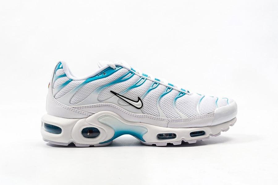 Nike Air Max Plus White Blue Fury - Le Site de la Sneaker