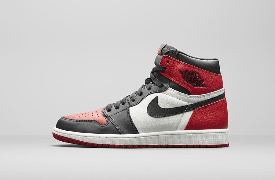 Air Jordan 1 Retro High OG Bred toe - Le Site de la Sneaker