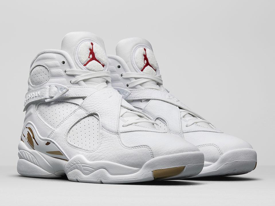 Air Jordan 8 OVO White - Le Site de la Sneaker