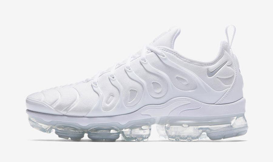 Nike Air VaporMax Plus Triple White - Le Site de la Sneaker