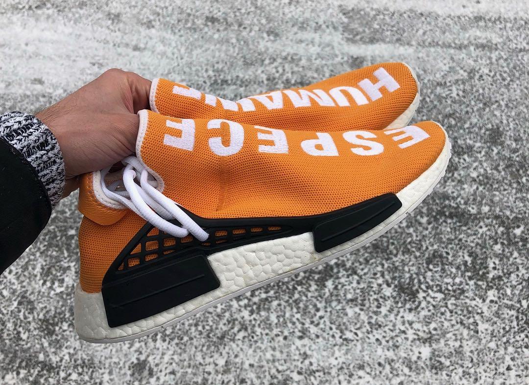 Pharrell x adidas nmd hu ebay