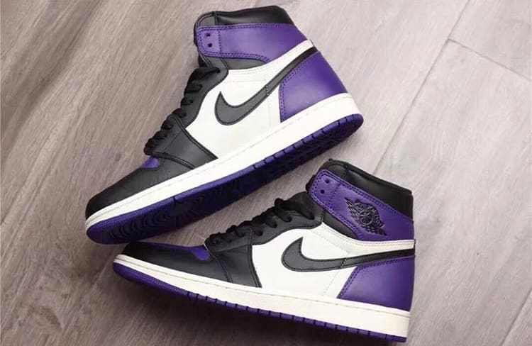 Une nike air jordan 3.5 rainbow girl dress solid Purple Toe pour l ...