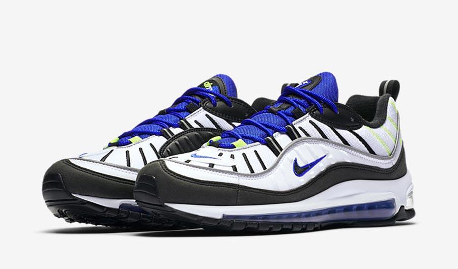 Nike Air Max 98 Sprite - Le Site de la Sneaker