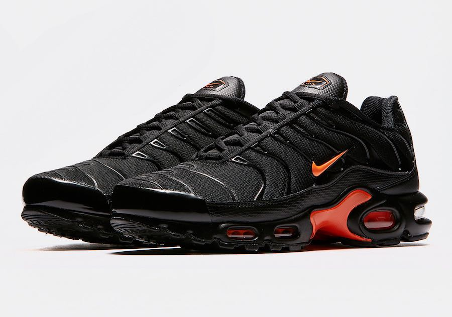 Nike Air Max Plus Black Orange - Le Site de la Sneaker