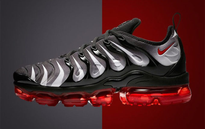 Nike Air VaporMax Plus Red Shark Tooth - Le Site de la Sneaker