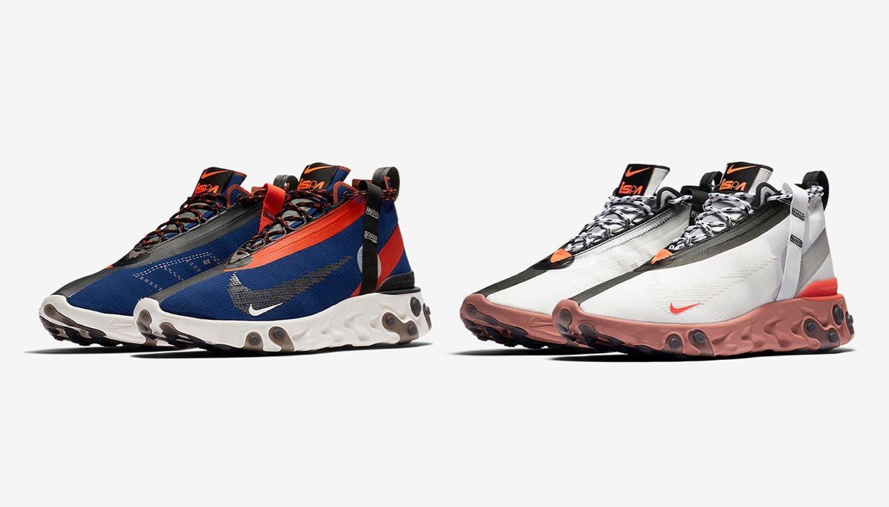 Nike présente la React Runner SP Mid WR ISPA - Gov