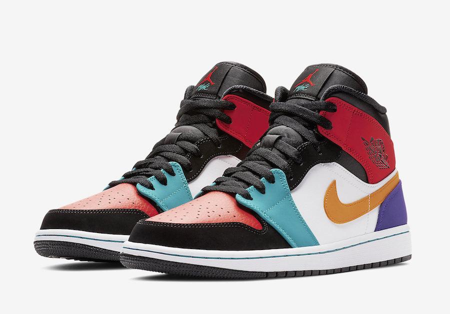 Air Jordan 1 Mid Multicolor - Gov
