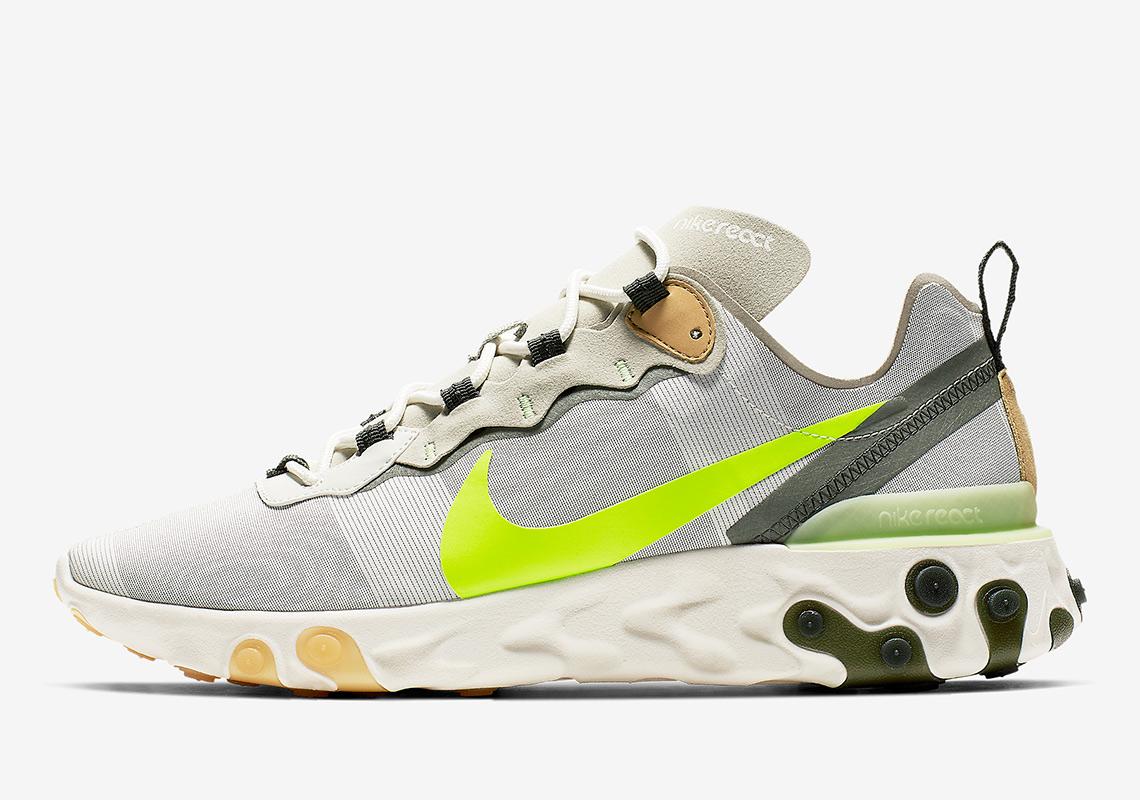 Preview: Nike React Element 55 Volt - Le Site de la Sneaker