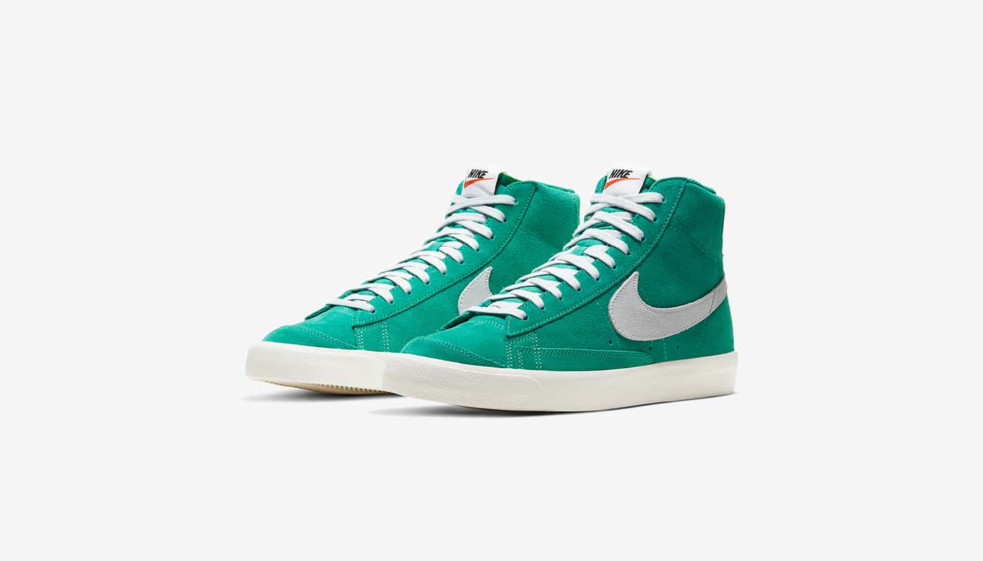"""Preview: Nike Blazer Mid Vintage '77 """"Nature Green"""" - Le Site de ..."""