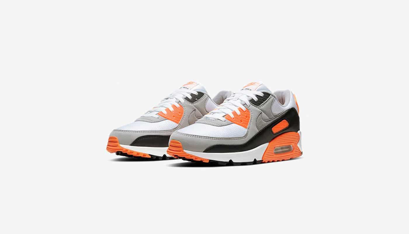 Nike dévoile la Air Max 90 Orange - Le Site de la Sneaker