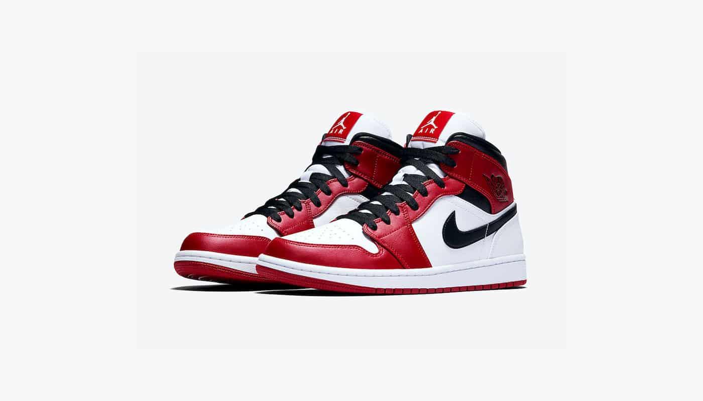 Une nouvelle Air Jordan 1 Mid Chicago à venir - Le Site de la Sneaker