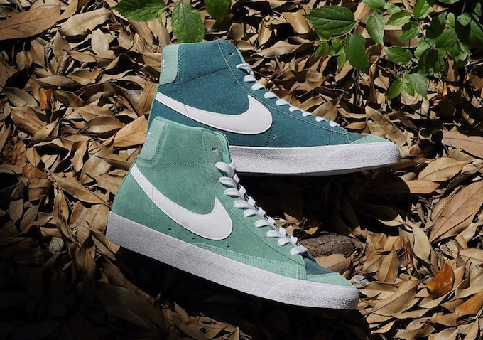 Preview: Nike Blazer Mid '77 Ash Green - Providenceresearch