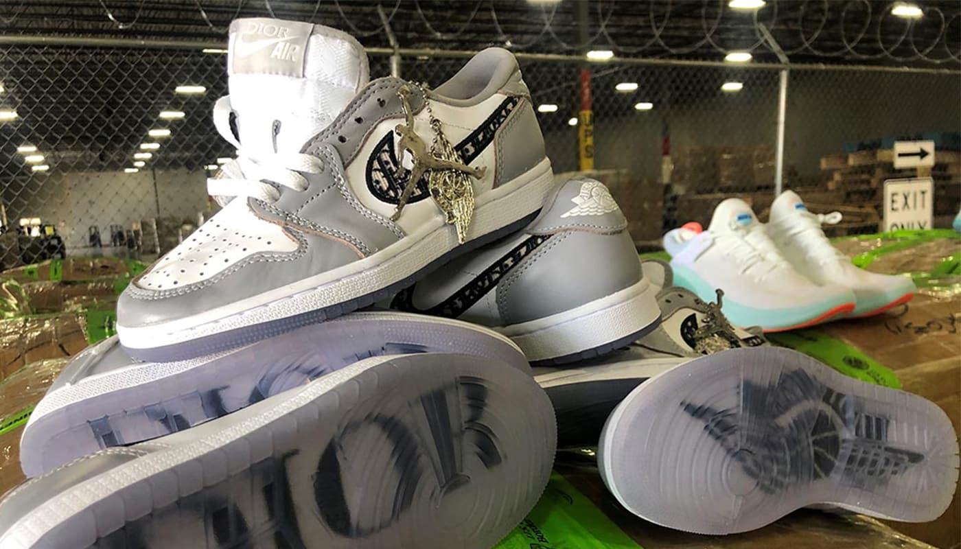 3.6 millions d'euros de fake Dior x Air Jordan 1 saisies au Texas ...