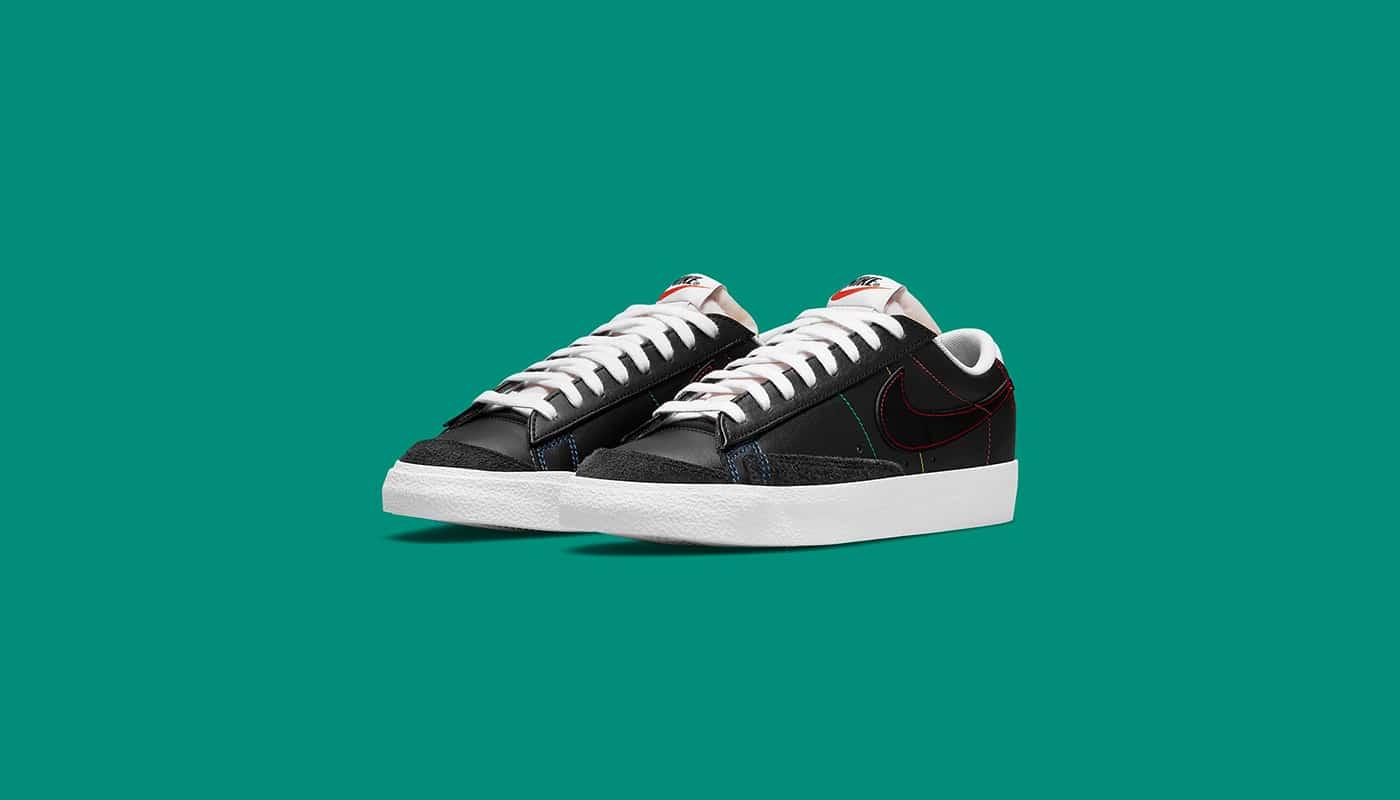 Une Nike Blazer Low