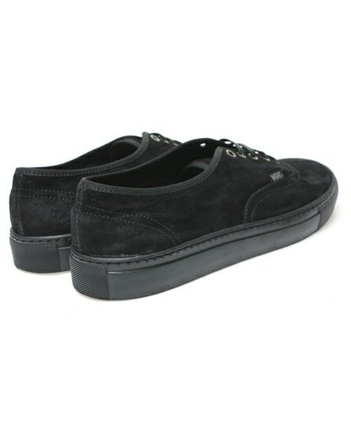 vans noir daim