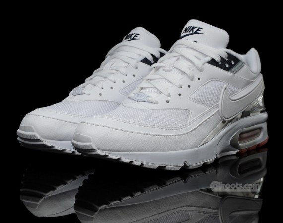 nike air max bw classic textile white white le site. Black Bedroom Furniture Sets. Home Design Ideas
