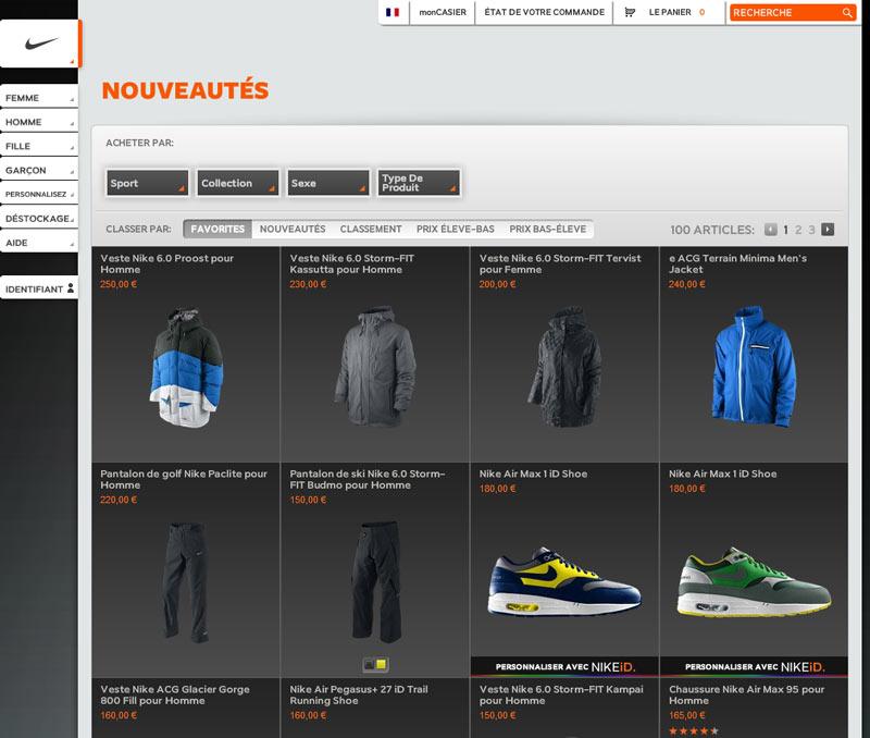 san francisco 890a7 438d9 Nikestore boutique en ligne