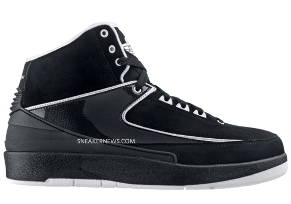 low priced d557b e662d Air Jordan II (2) Retro Black White  Sortie Octobre 2010