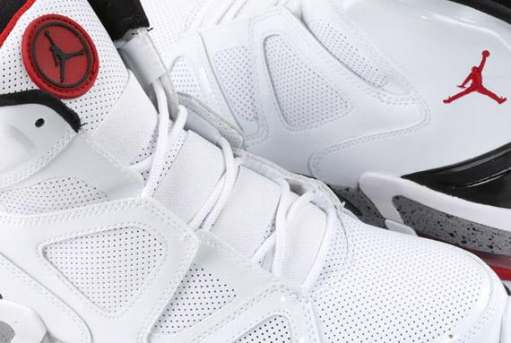 b75a8bf22078fc Air Jordan Old School IV White Varsity Red Black - Le Site de la Sneaker