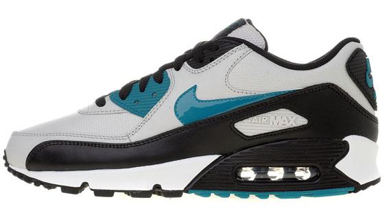 run shoes size 40 store Nike Air Max 90 Neutral Grey Blue Mystery Black - Le Site de la ...