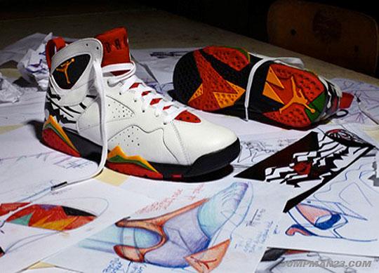 "Air Jordan 7 Retro Premio Collection ""Bin 23″  Date de sortie - Le ... 85c4c368f"