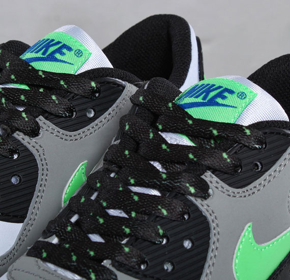 Nike Air Max 90 GS White/Neo Lime/Medium Grey/Black