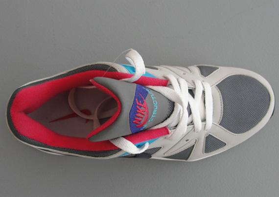 La Nike Air Structure Triax  91 est de retour dans un nouveau coloris pour  femmes  Cool Grey-Ink-Tech Grey 21272d486