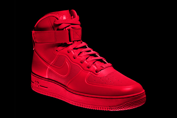 nike air force rouge
