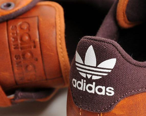 adidas stan smith homme marron