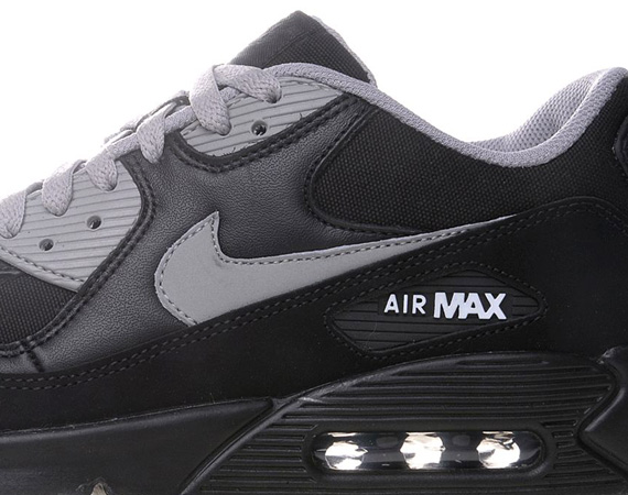 nike air max 90 black medium grey le site de la sneaker. Black Bedroom Furniture Sets. Home Design Ideas