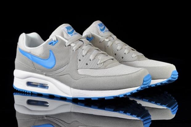nike air max grey blue
