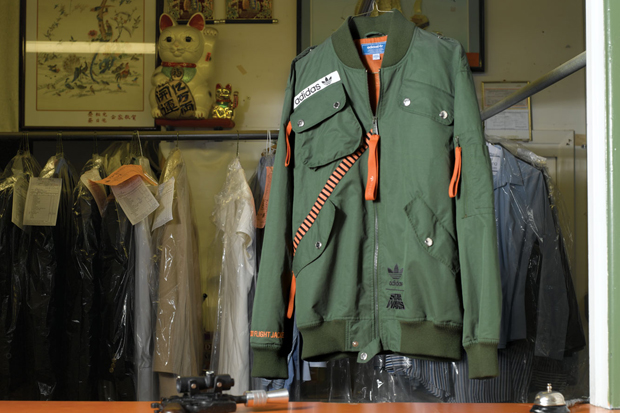 adidas star wars rebel x wing military jacket