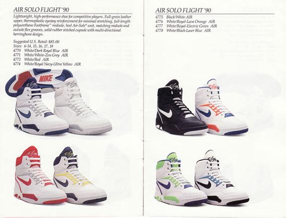 size 40 a1001 69c4e Découvrez le catalogue complet de Nike Basketball de 1990, année de  naissance de la mythique Air Jordan V et des séries Nike Flight et Nike  Force.