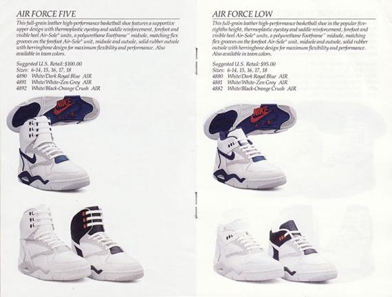 basket nike 1990