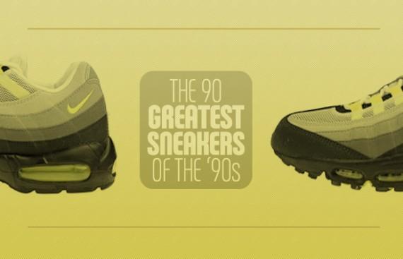 Les 90 Meilleures Sneakers des années 90 Le Site de la Sneaker