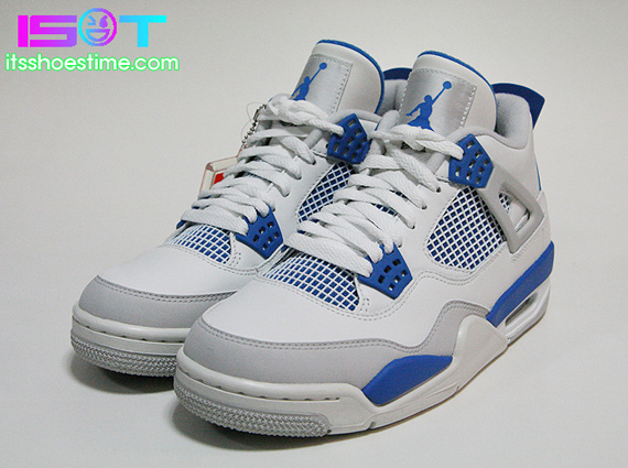 new arrival 9cb56 e48a2 Air Jordan IV Military Blue - Le Site de la Sneaker