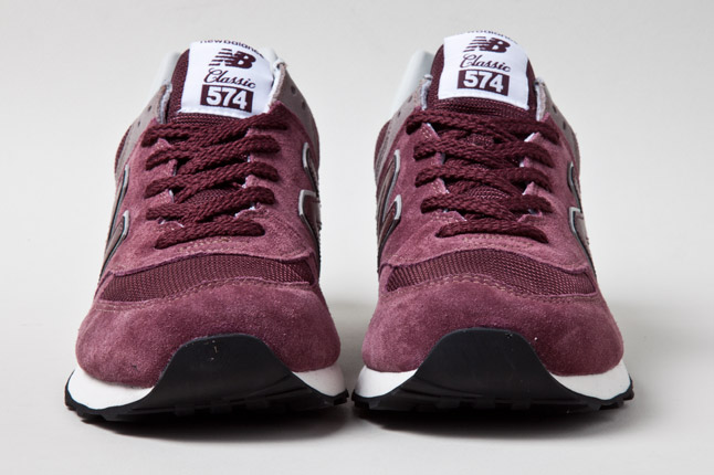 new balance 574 beige burgundy
