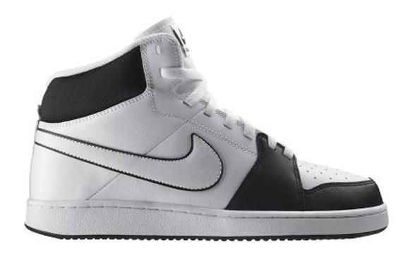detailed look 8cd06 a4282 Nike Backboard II Mid Black  White dispos - Le Site de la Sn
