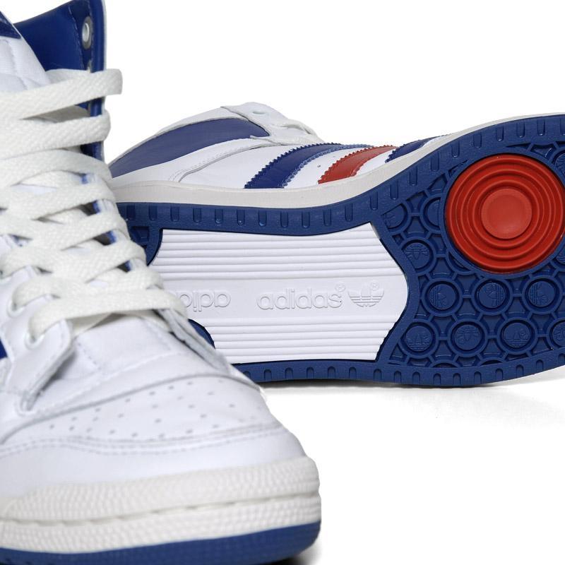 reputable site 478eb 68f59 Adidas Decade Mid OG White-Lone Blue-Light Scarlet dispo - Le Site de la  Sneaker