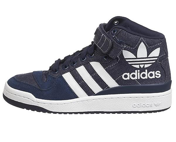 new styles 1dc5f bc08a inexpensive elles sont maintenant vendues sur corner street au prix de 95. adidas  forum mid