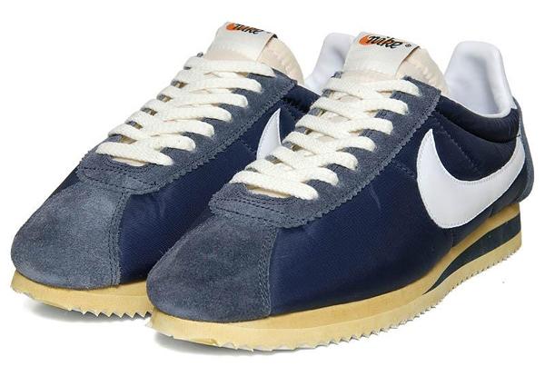 big sale 364f7 72735 Nike Cortez Classic Og Nylon Qs  midnight Navy